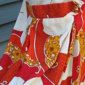 vintage royal hawaiian mod shift dress tropical print