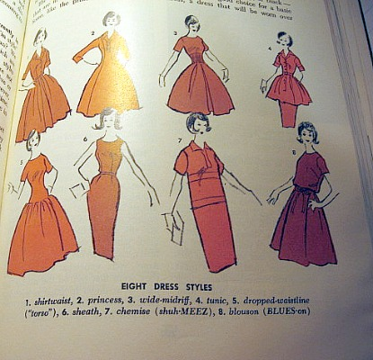 The different shapes and styles of vintage 1960s dresses ...