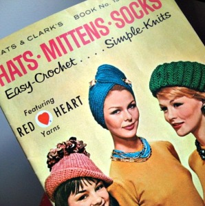vintage 60s pattern book hats accessories to make